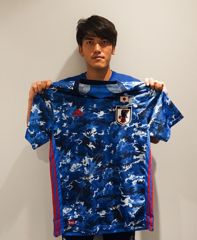 【直筆サイン入り公式】U-23日本代表 一美 和成 選手(横浜FC)