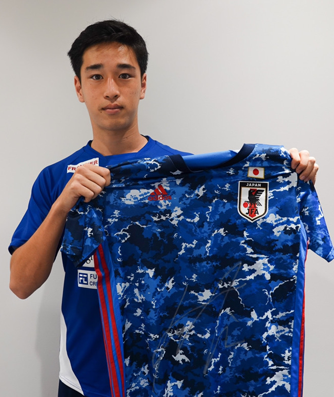 【直筆サイン入り公式】U-23日本代表 小林 友希 選手(横浜FC)