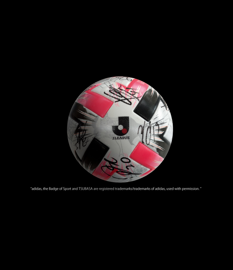 10/21 岡山戦 出場メンバーサイン入り実使用公式球